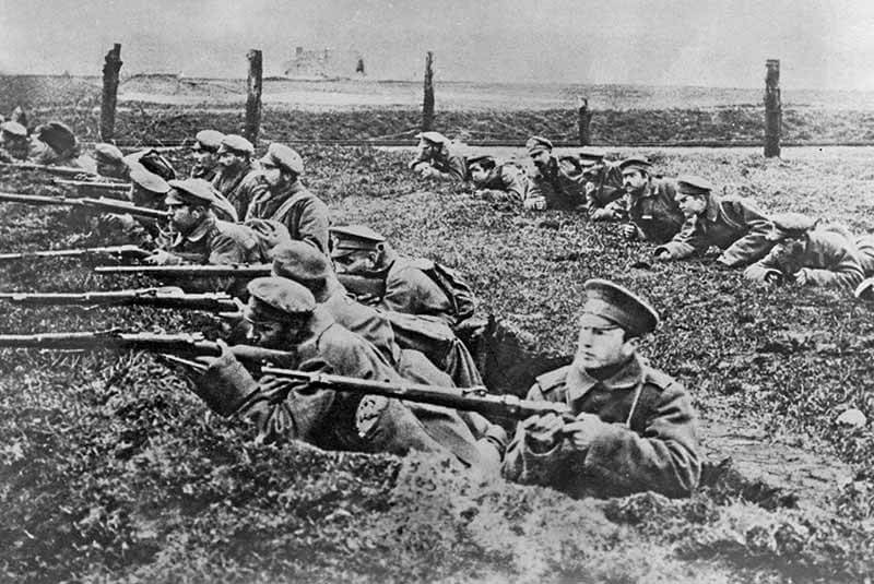 شروع اولین جنگ جهانی بوش