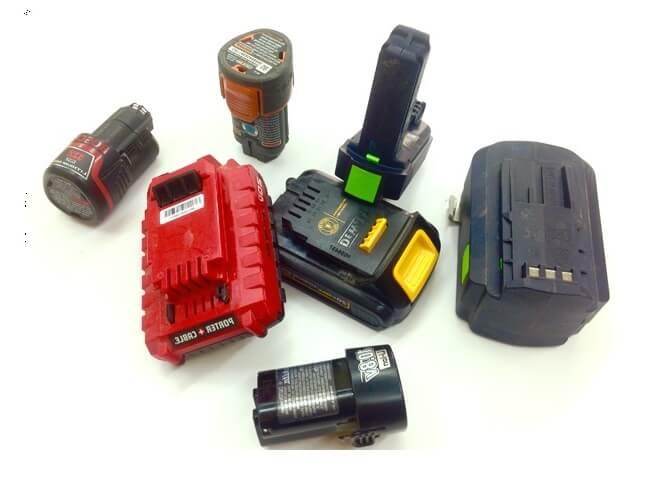 مشخصات باتری دریل شارژی