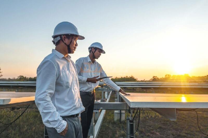 طرز کار کردن پنل های خورشیدی