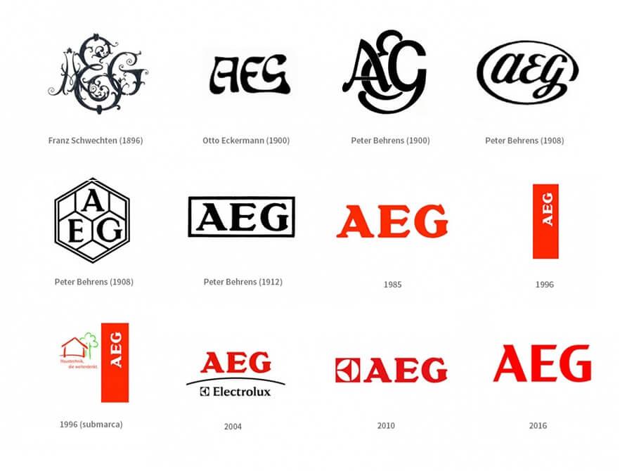 لگوی برند آاگ AEG
