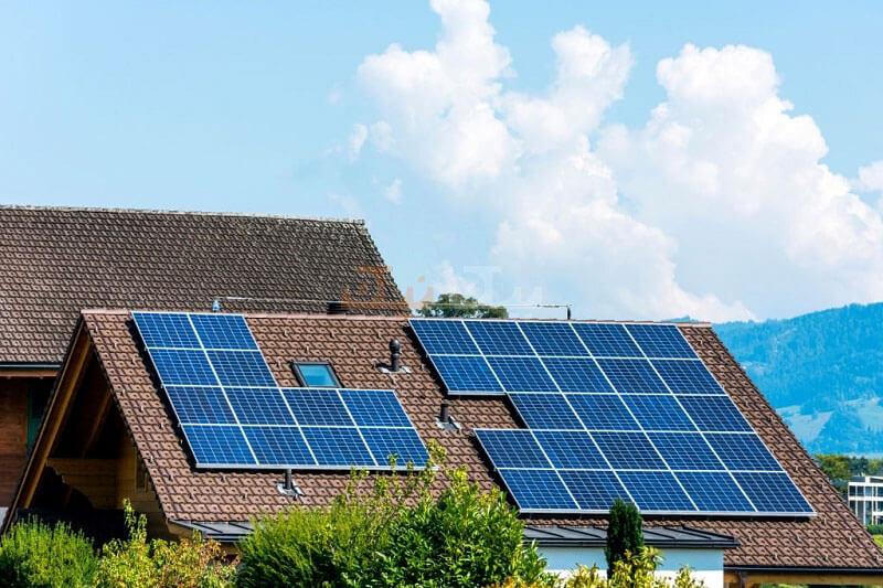 پنل های خورشیدی حساس به نور