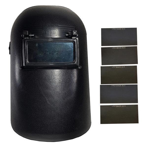 ماسک جوشکاری کد N110 به همراه 5 عدد شیشه ماسک