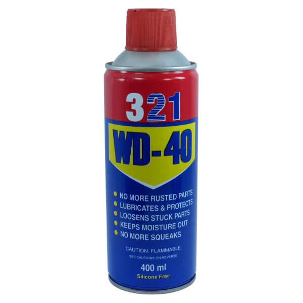 اسپری روان کننده و رنگ بر مدل WD-40 حجم 400 ميلی ليتر