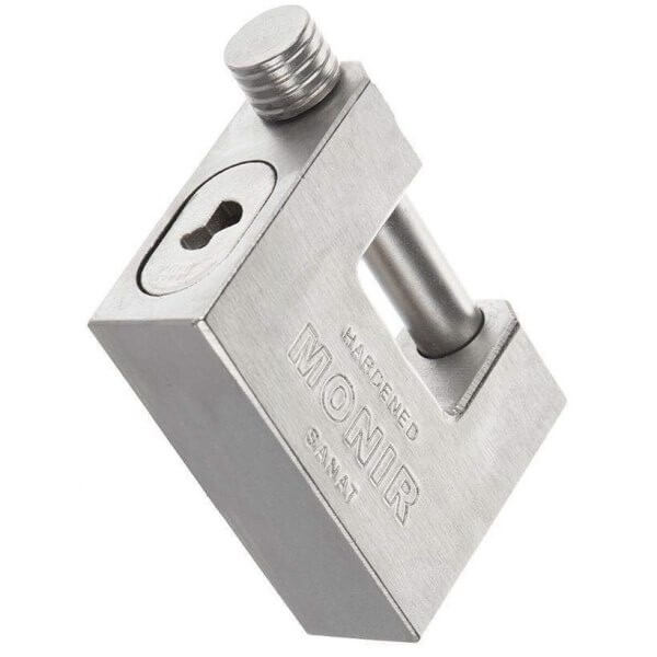 قفل کتابی منیر صنعت مدل Hardened 85