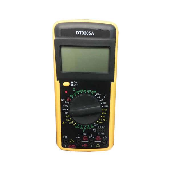 مولتی متر مدل DT9205A