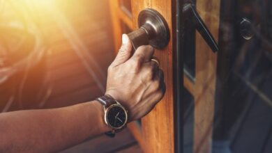 بهترین دستگیره درب چوبی ورودی و اتاق