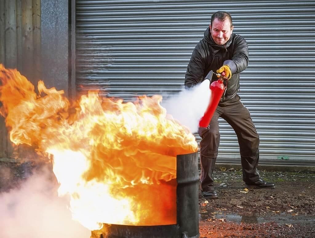 آتش سوزی کلاس B