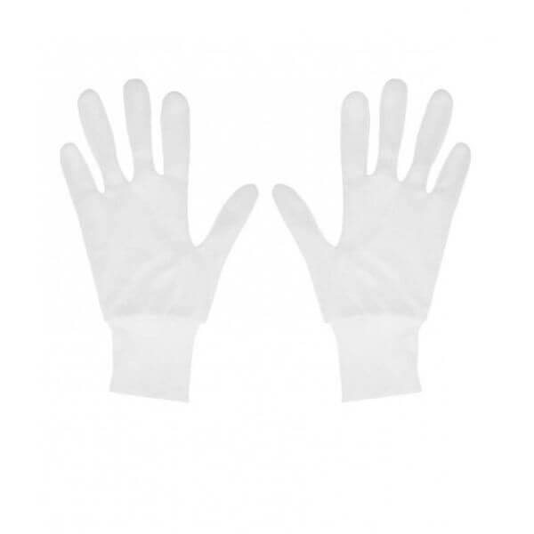 دستکش نخی ضد حساسیت مدل مچ کش دار بسته 10 جفتی