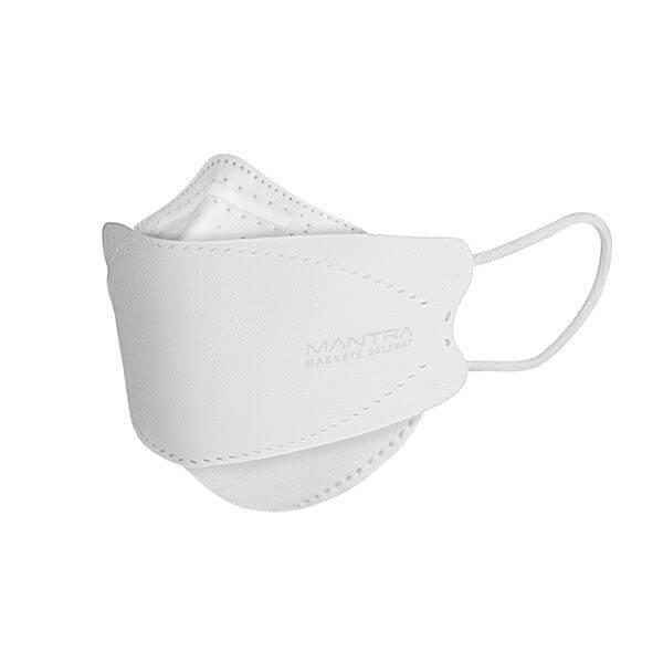 ماسک تنفسی مانترا مدل سه بعدی پنج لایه بسته 25 عددی