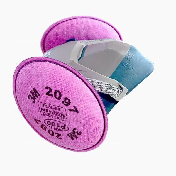 ماسک ایمنی تری ام مدل6502QL